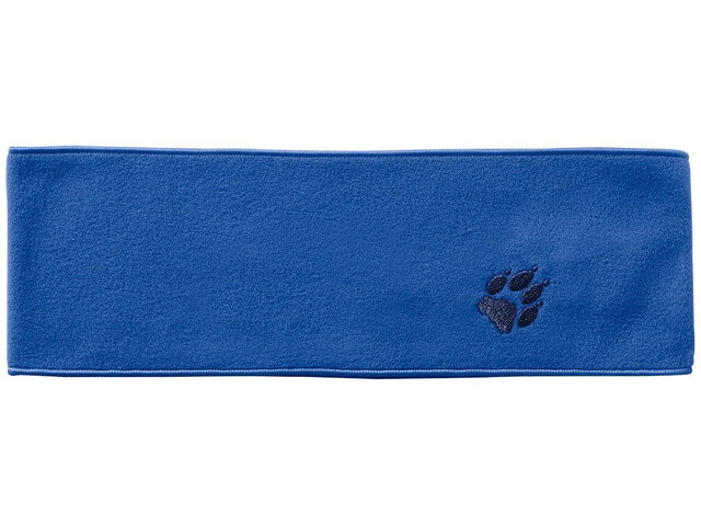 Jack Wolfskin Real Stuff Stirnband Kinder coastal blue